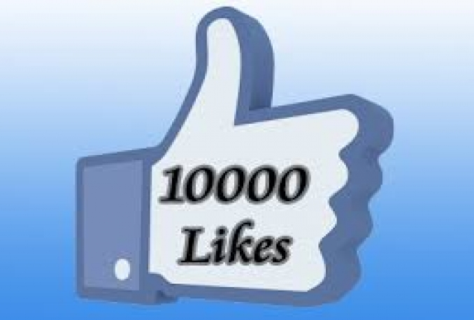 Give 10,000 Real Facebook Post Likes within 2 hours