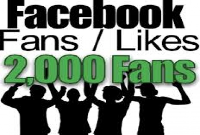 Provide You instantly 2,000+ Real/Human/Unique/Active Fb Likes For Your page 100% Safely.
