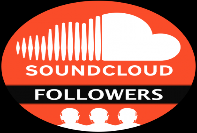 Provide you real & permanent 1000+ High Quality SoundCloud Followers