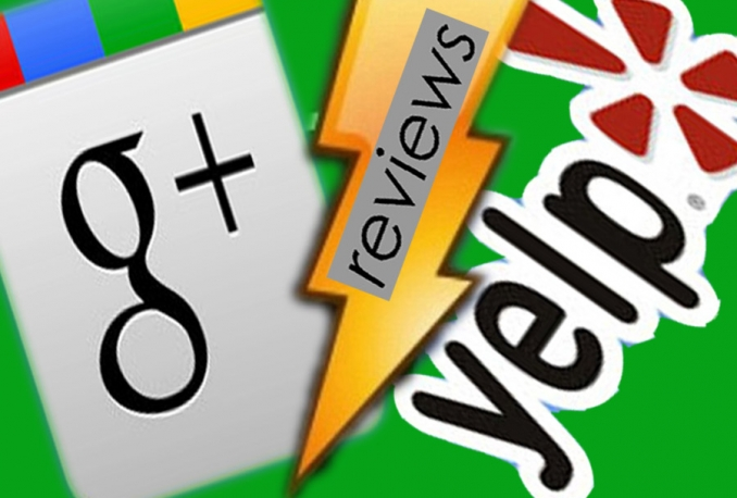 add permanent good yelp or google plus reviews