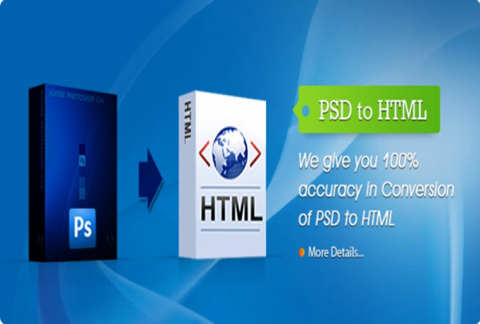 turn psd for you to html code and develop website.