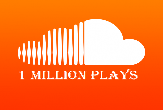 add 1 million SoundCloud plays