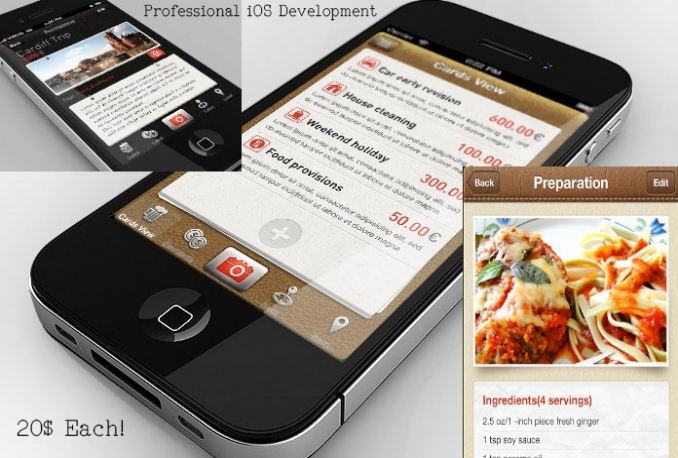 Create Pre-Designed iPhone Apps with 2 Months of Warranty