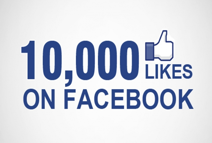 Provide You instantly 10,000+ Real/Human/Unique/Active Fb Likes For Your page 100% Safely.
