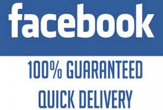 give you 500 gauranteed non drop facebook likes only