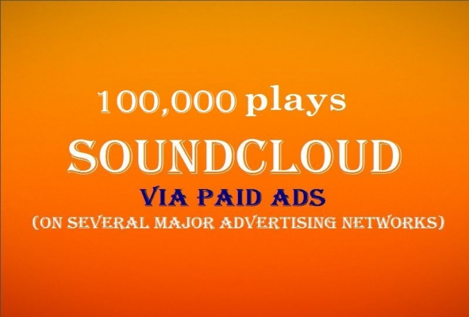 add 100,000 SoundCloud plays