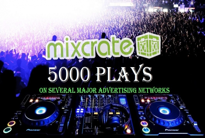 boost your Mixcrate music