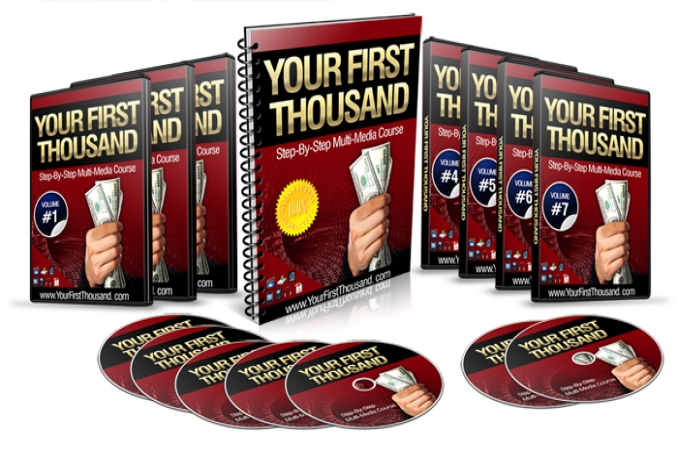 teach you how to make your first thousand online
