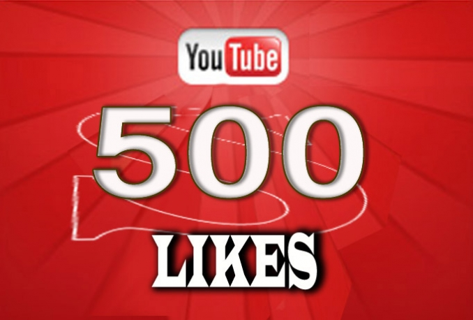 do 500 YouTube Real Likes