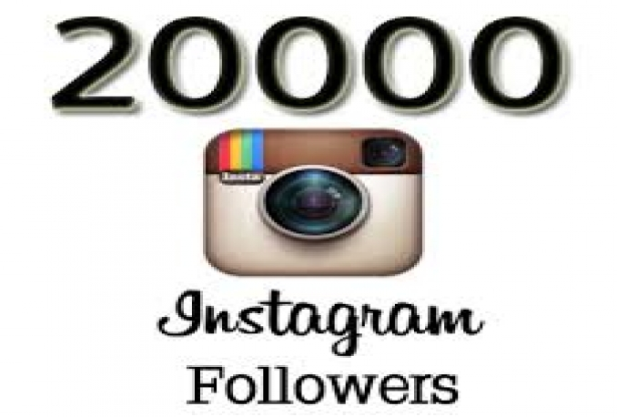 I will Instagram 20,000 Instant Fast Non Drop Followers