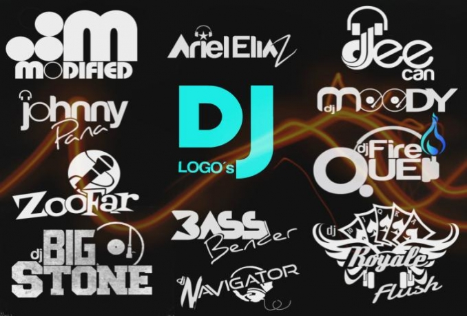 hands down best dj logo