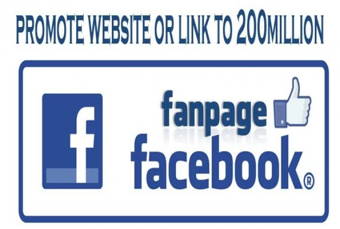 promote website or link to 200million young people on facebook for traffic