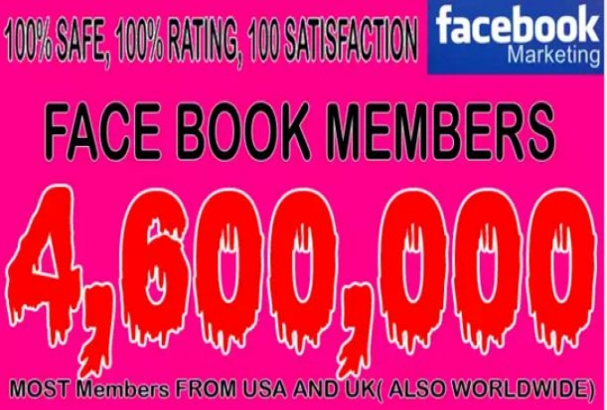 promote your business 4,600,000 on social media