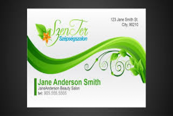 CREATE A PROFESSIONAL LOOKING BUSINESS CARD FOR YOU WITHIN 4 DAYS OR LESS