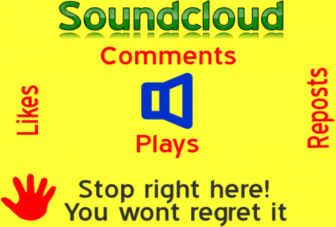 GIVE YOU 100,000 SOUNDCLOUD PLAYS+ 1000 LIKES