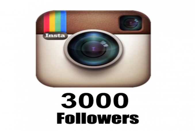 give you 3000 Instagram followers