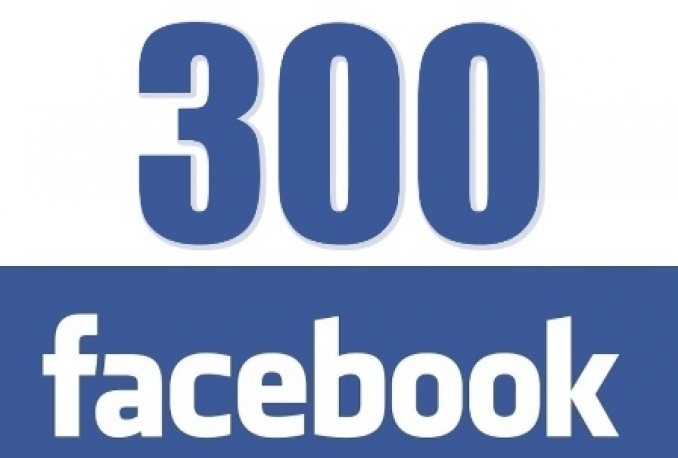 I will add 300 Facebook Likes (real and genuine) High Quality to Facebook Fanpage
