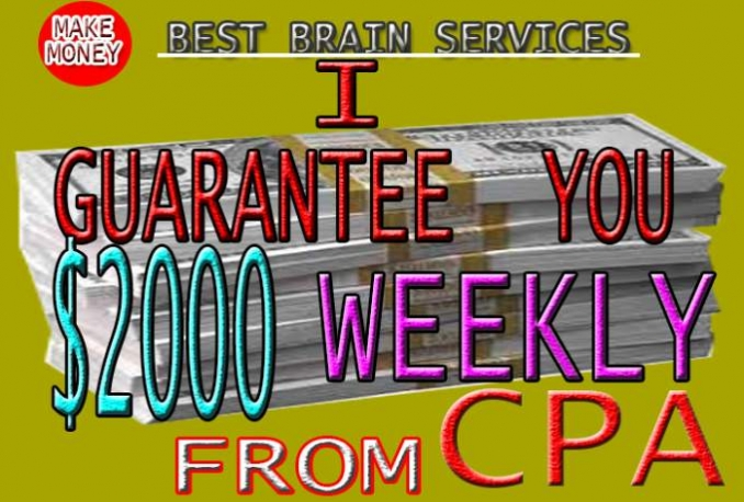 logically Boost Your CPA Earnings By 2000USD Weekly and you ll MakeMoney Forever