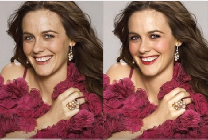 do photo retouching and background changing