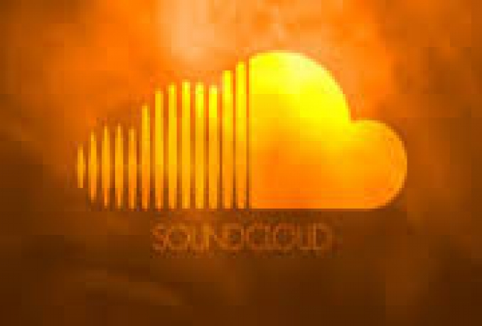 100 soundcloud likes,100 reposts,100 downloads and 160,000 soundcloud  plays