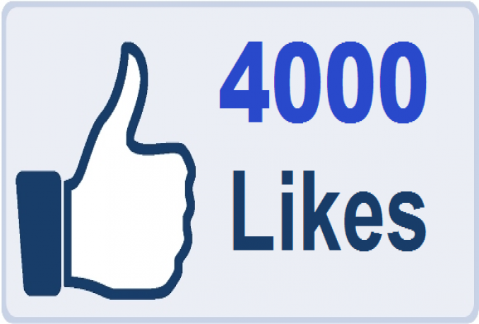 Get you 4000 Facebook Post/ Status/ Photo Likes