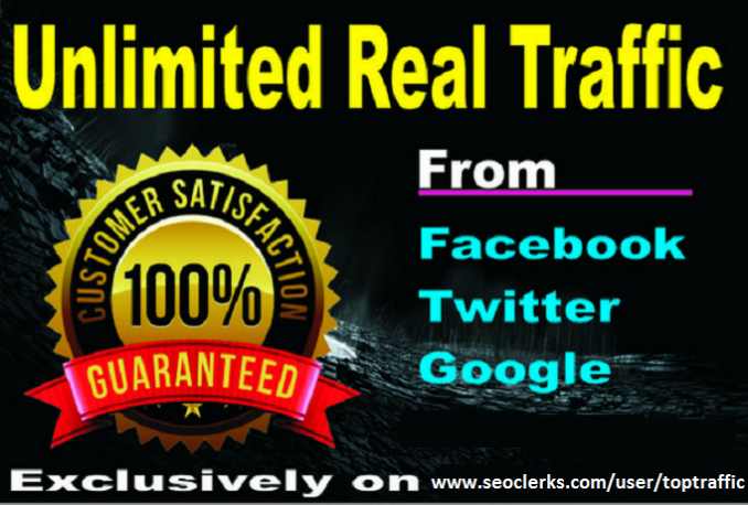 100,000 Keyword Targeted Web Traffic From USA By Google Facebook Twitte