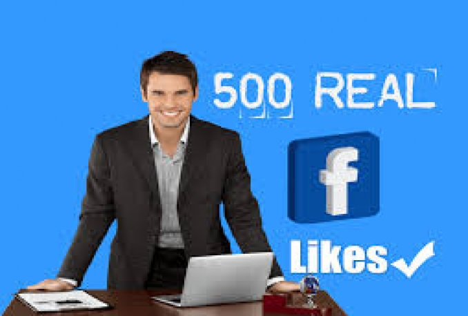 give 500+ Facebook Likes Only