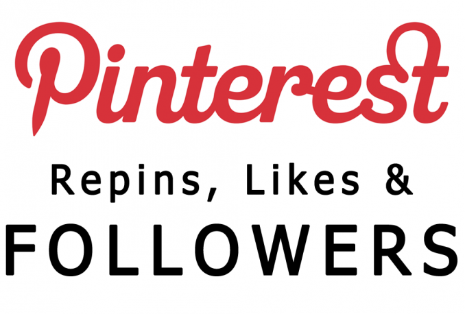 Give You Real & Non drop 1000+ Pinterest Followers