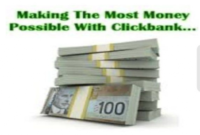 teach you how you can make100 dollar Daily From Clickbank