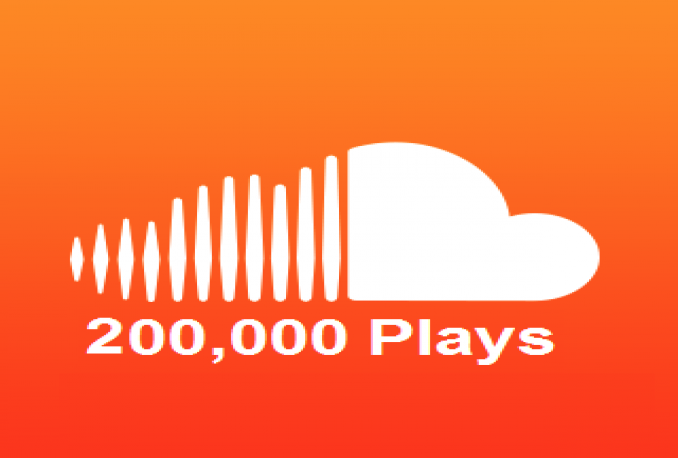 200000 soundcloud plays+ 100 Comments+Likes+reposts