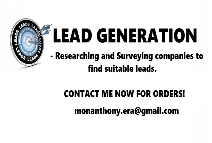 do Lead Generation for you