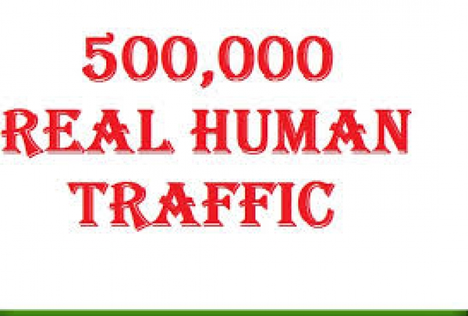 Give you 500,000+ Real Traffic From any Country Granted