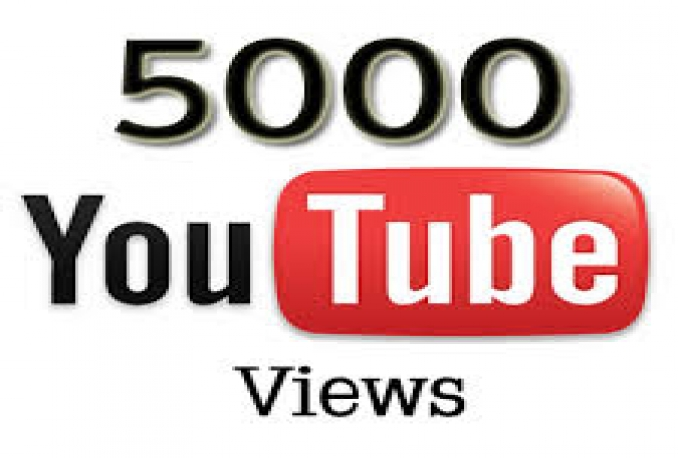 Give You 5000 NON Drop + Splitable Youtube Views