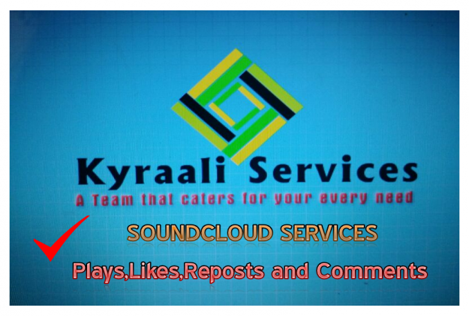 GIVE YOU 4000 SOUNDCLOUD PLAYS+50 LIKES WITHIN 24 HOURS OR LES
