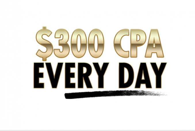 show you how to earn USD300 per day from CPA