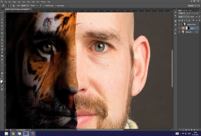 retouch your photo to make it more good