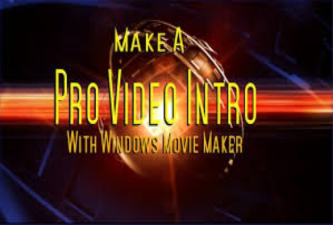 make highly Professional YouTube Video Intros