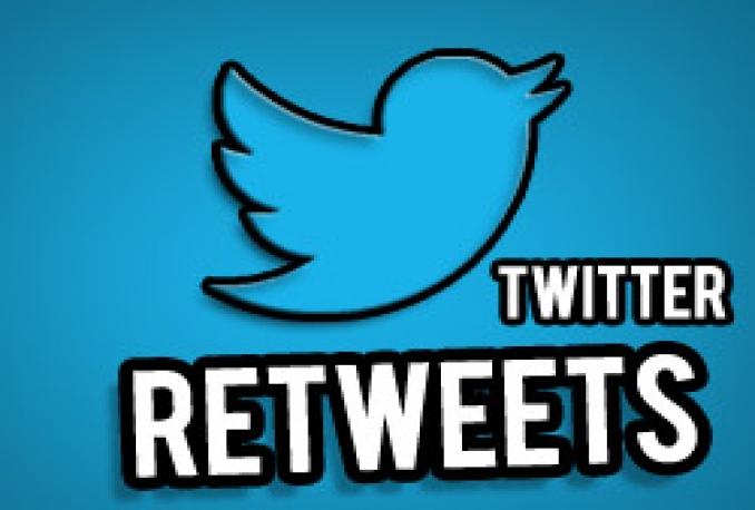 I will give 500+twitter retweets(1days) for $5