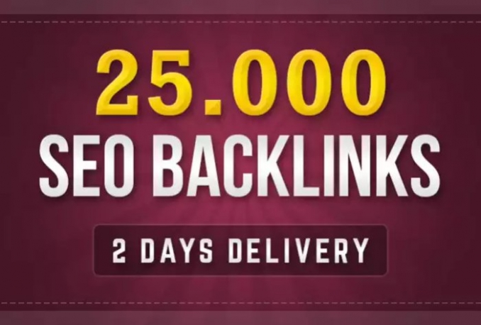 build 25000 GSA Ser backlinks for Google ranking