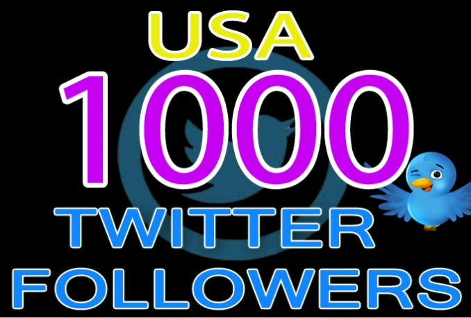 do 1000 USA Twitter Followers