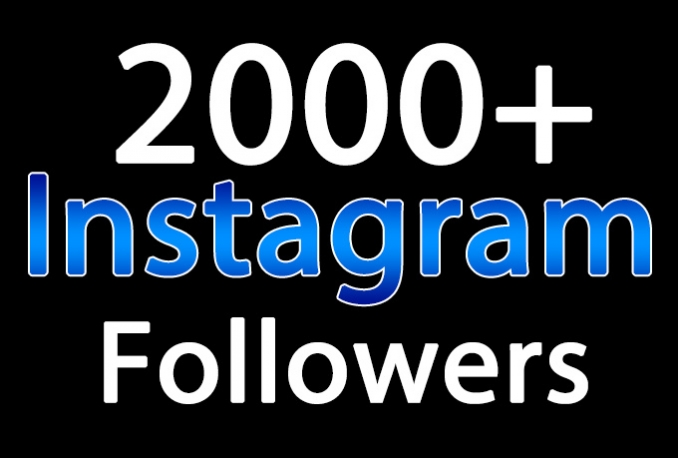 do 2500 Instagram Followers