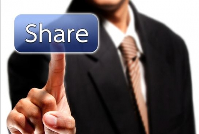 500 Facebook post share and10 comment within 36 houre