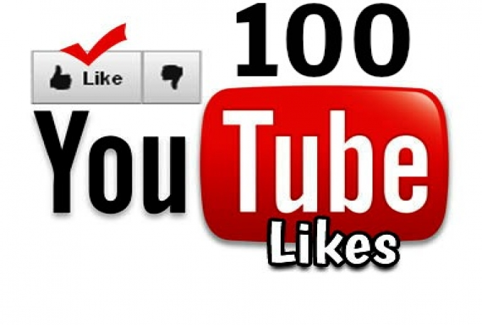 give you 100 Real Youtube Likes Instant Delivery