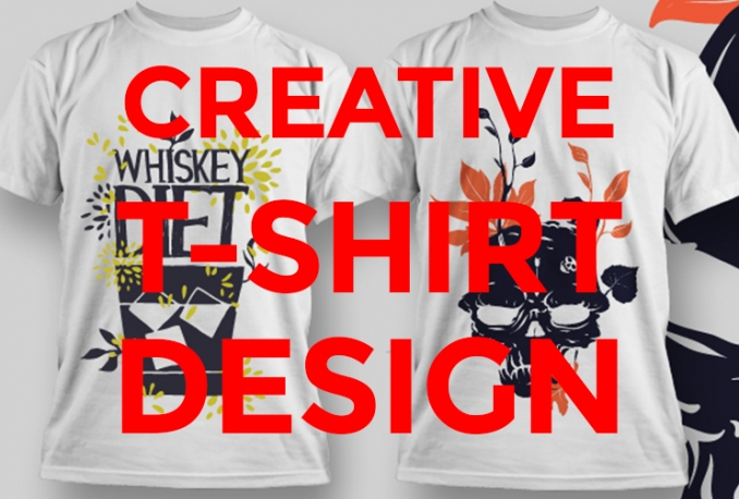 design Awesome Tshirt with Mockup