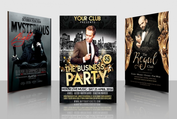 design Poster or Flyer for Any Event
