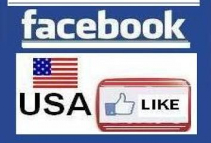 Give you 100+ USA Real & Non Drop Facebook Fan Page Likes