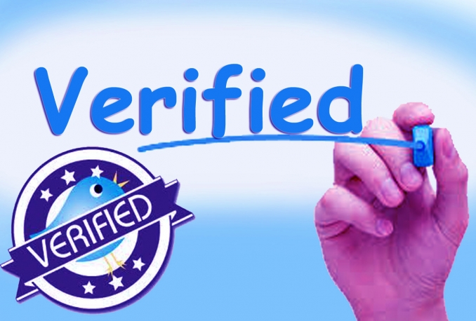 forward your twitter account to verification deparment...