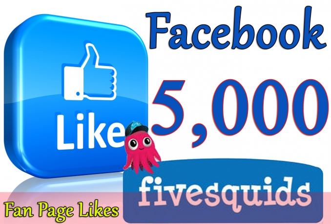 Gives you 5,000+Instantly started Guaranteed Facebook likes