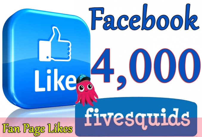 Gives you 4,000+Instantly started PERMANENT Active Facebook likes