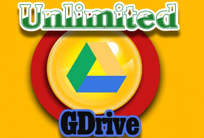 Get You A GDrive Unlimited Storage Account